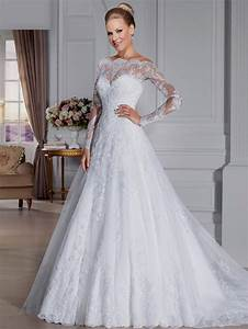 a line wedding dress with long sleeves naf dresses With long sleeve a line wedding dress