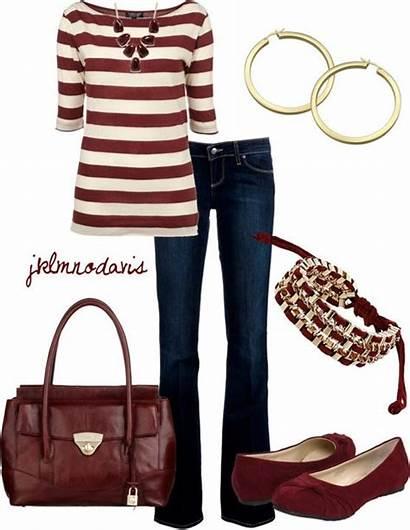 Brandi Klee Outfits Dressinterest Burgundy Polyvore Clothes