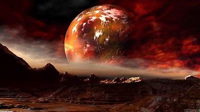 Mars Planet Space Background Moon Wallpapers Backgrounds