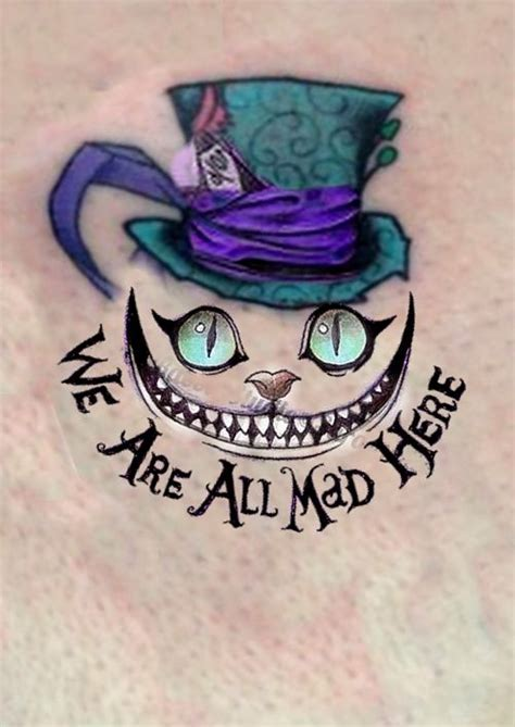 """Cheshire Cat Alice Wonderland """"we Are All Mad Here"""" Enzo"""