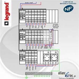 Tableau électrique Triphasé Legrand : tableau electrique pr cabl legrand surface entre 35 m2 et ~ Edinachiropracticcenter.com Idées de Décoration