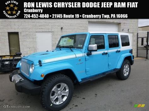 chief blue jeep 2017 chief blue jeep wrangler unlimited chief edition 4x4