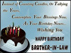 Happy birthday brother in law quotes, images and messages ...