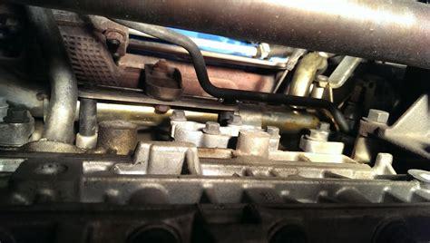 oil leak  exhaust manifold volvo forums