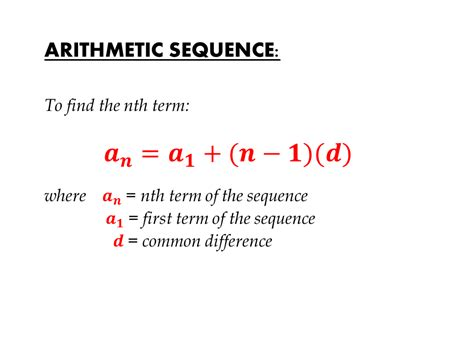 Arithmetic And Geometric Sequences  Exponential Functions Ccs