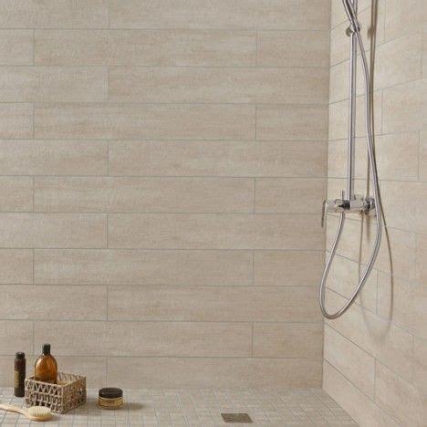 panneaux muraux cuisine leroy merlin carrelage mural taiga premium en grès beige 15 x 90 cm