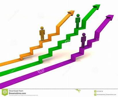 Development Clipart Graph Rising Growth Clip Develop