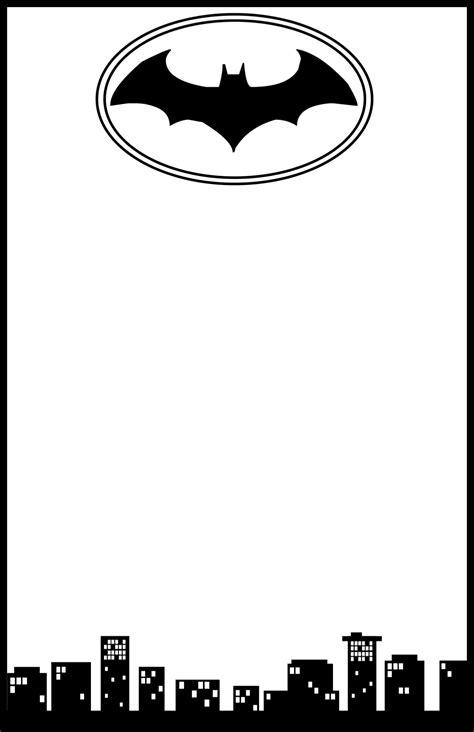 printable batman birthday invitations bagvania