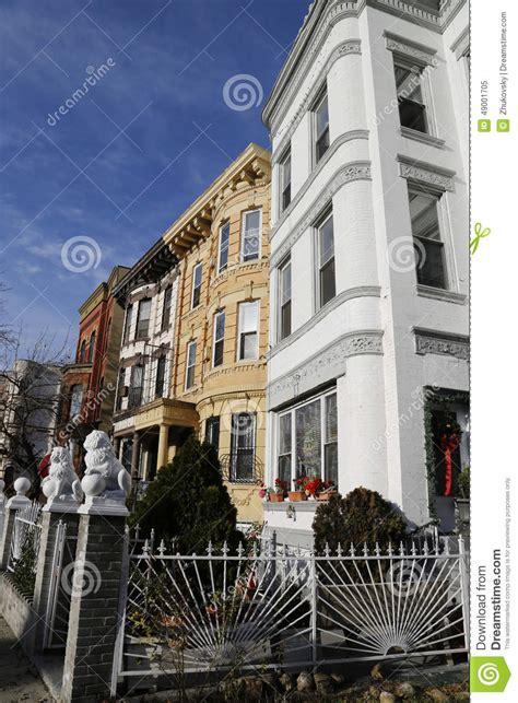 New York City Brownstones In Bedford Stuyvesant