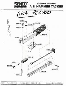 Senco A11-hammer-tacker Parts