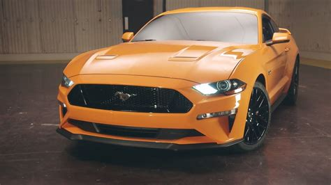 New Ford Mustang 2018 by 2018 Ford Mustang Facelift Loses V6 Gains New 10