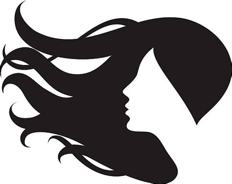 Black Hair Clipart Female Hair