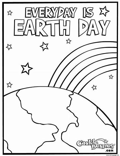 Earth Coloring Everyday Pages Printable