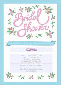 should you print your own bridal shower invitations With wedding shower invitations print your own