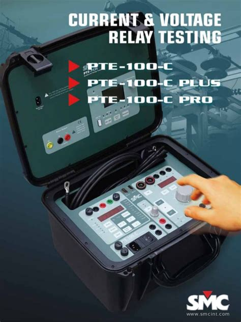 Smc Pte Current Voltage Relay Testing