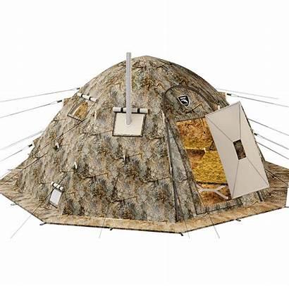 Tent Russian Bear Stove Wood Jack Winter