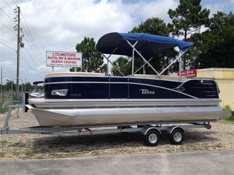 Tahoe Pontoon Boat Covers by 2014 New Tahoe Pontoon Cascade 20 Pontoon Boat For Sale