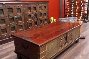 Möbel Aus Indien : couchtisch truhe kolonial truhentisch massivholz indien 130x63x44 ~ Sanjose-hotels-ca.com Haus und Dekorationen