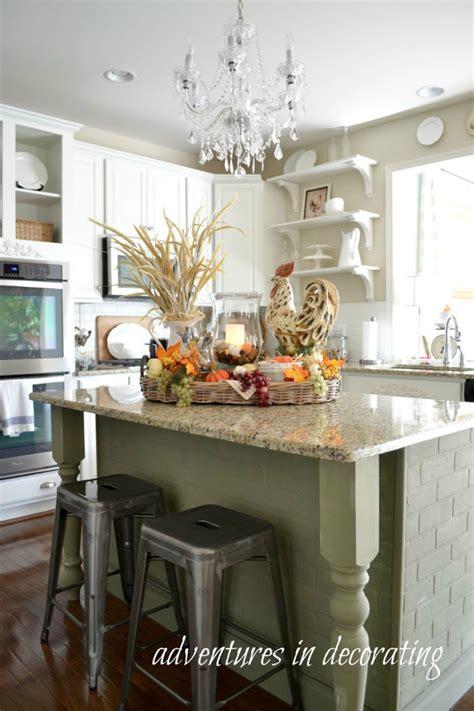 kitchen island decor ideas kitchen fall decor ideas that are simply beautiful