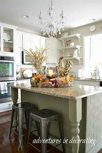 kitchen fall decor ideas that are simply beautiful With kitchen decorating ideas for the kitchen island