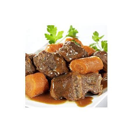 plats cuisines sous vide boeuf carottes 1 224 2 personnes produit gastronomique outdoor