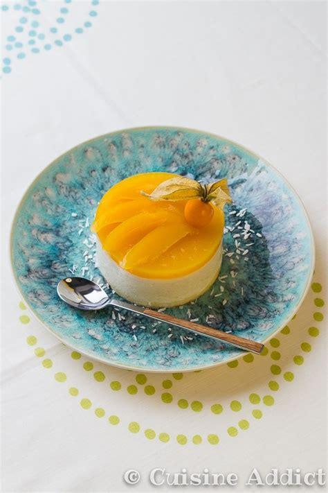 beurre de coco cuisine bavarois exotique ananas mangue noix de coco cuisine