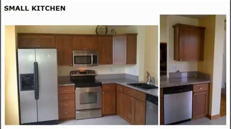 cabinet refacing cost small kitchen youtube