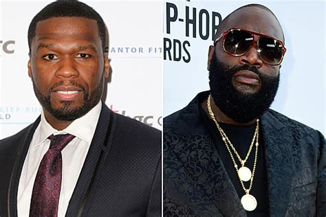 cent takes aim  rick ross   rolling stone
