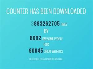 Free Chart Js Animated Number Counter Plugin For Jquery