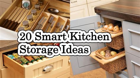 smart kitchen storage 20 smart kitchen storage ideas 2381