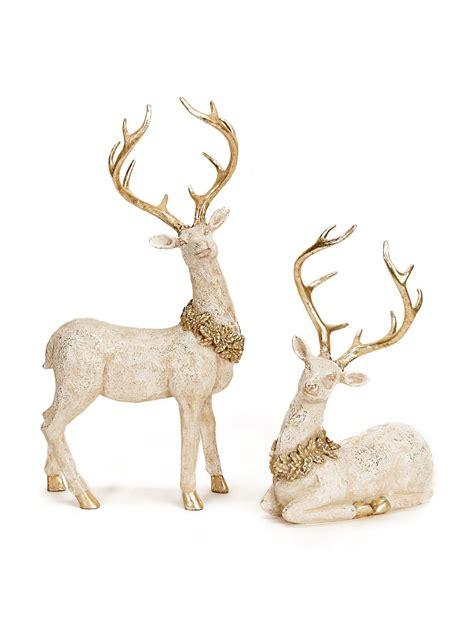 BuySeasons White / Gold Decorative Objects Holiday Decor