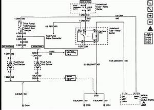 1998 Chevy Truck Fuel Pump Wiring Diagram
