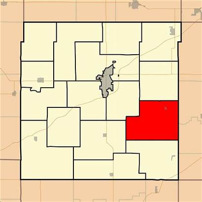 Kansas Franklin County Township Map Cutler Svg
