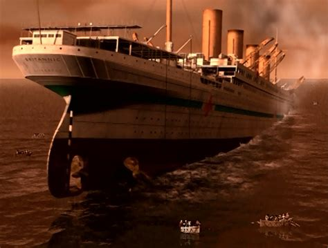 sinking of the britannic hmhs britannic sinking flickr photo