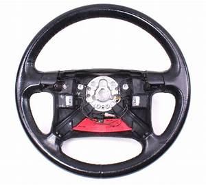 Leather Steering Wheel 96-99 Vw Jetta Golf Gti Mk3 4 Spoke Stock