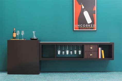 Add A Shelf To A Cabinet by Mini Bar Furniture For Stylish Entertainment Areas