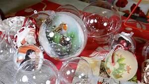 Boule Noel Transparente : boules transparentes diy noel tutoriel loisirs creatifs youtube ~ Melissatoandfro.com Idées de Décoration