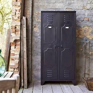Armoire Industrielle Vintage : armoire en m tal style industriel ~ Teatrodelosmanantiales.com Idées de Décoration