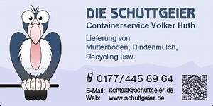 Rindenmulch Berechnen : schuttgeier containerservice volker huth 12683 berlin marzahn biesdorf wegweiser aktuell ~ Themetempest.com Abrechnung