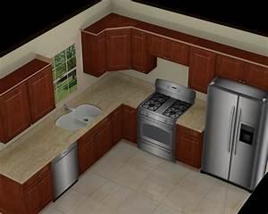 Foundation Dezin & Decor : 3D Kitchen Model Design