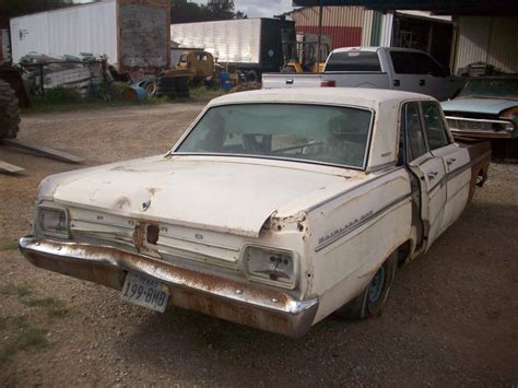 Ford Fairlane Parts by 1965 Ford Fairlane 500 Parts Car 3