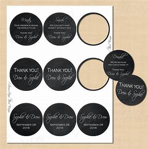 chalkboard round labels 25 text editable printable With editable circle labels