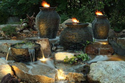 nhbubbling landscape garden fountain kitschester