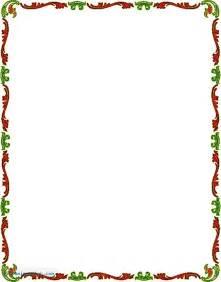 Free Vector Clip Art Christmas Borders