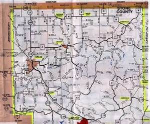 Stone County Missouri Map