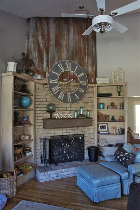 Cabinet Makeovers by Fireplace Makeover With Annie Sloan Chalk Paint