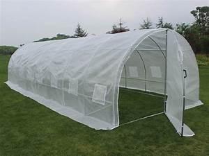 serre tunnel de jardin avec porte mimosa 220g m2 67252 67279 With serre tunnel de jardin