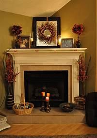 fireplace mantel decorating ideas Fireplace Decorating Ideas for Mantel and Above | Founterior