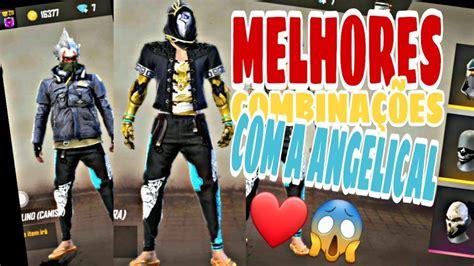 It's also one of the oldest legendary skins of the mp40. COMBINAÇÕES DE SKINS COM CALÇA ANGELICAL   FREE FIRE - YouTube