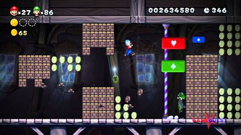 New Super Mario Bros U World Frosted Glacier Ghost
